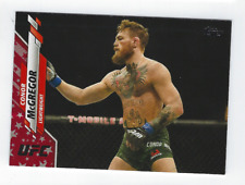 CONOR MCGREGOR 2020 TOPPS UFC INDEPENDENCE DAY PARALLEL /76