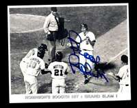 Brooks Robinson JSA Coa Hand Signed 2000 Hit 8x10 Photo Autograph