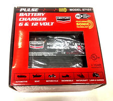 Century  87101,  10 Amp Pulse Battery Charger 6 & 12 Volt
