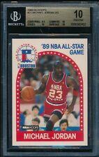 BGS 10 PRISTINE MICHAEL JORDAN 1989-90 89-90 Hoops AS #21 Chicago Bulls HOF RARE