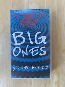 Aerosmith Big Ones_You Can Look At - VHS Video Tape