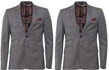 Ted Baker Grey Skiperj Salt & Pepper Slim Fit Jacket UK Size 44L RRP £275 BNWT