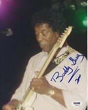 BUDDY GUY Signed CONCERT 8 x10 PHOTO with PSA/DNA COA