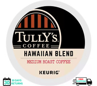 Tully's Hawaiian Blend Keurig Coffee K-cups YOU PICK THE SIZE