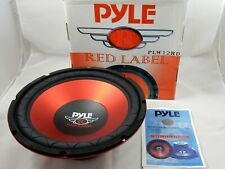 "Pyle PLW12RD Red Label Series 12"" 800W 4 Ohm  (No:1819443)"