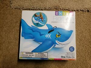 Intex Wet Set Inflatable Friendly Shark Ride On From 2013