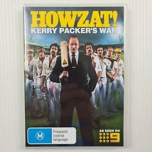 Howzat! Kerry Packer's War DVD - 3 Disc Set - Region 4 - TRACKED POST
