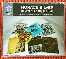 HORACE SILVER - SEVEN CLASSIC ALBUMS   4CD Set   Remastered  Jazz   SEALED