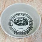 Vtg Elsenham Jam Company Dish Pot Black White By Dartmouth Pottery Devon England