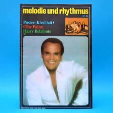 DDR Melodie und Rhythmus 12/1982 The Police Human League Talking Heads Pieckert