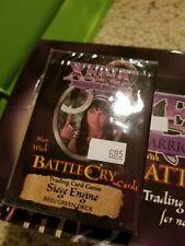 XENA Warrior Princess BATTLE CRY Siege Engine TCG Rare Red/Green Deck NEW WotC