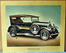 Bild vom  Oldtimer Ferris 1921,  Druck aus den 60 ziger Jahren
