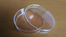 3 plates petri polystyrene 60 for germination of seeds and other
