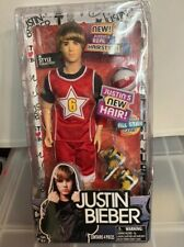Justin Bieber Doll Special Edition Toys R Us JB Style Justin's New Hair- Rare!!!