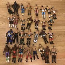30 WWF/WWE Mattel Elite y básicos de figuras de acción