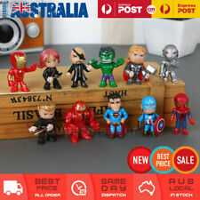 12x Marvel Hero The Avengers Figures Toy Cake Topper Display Figurine Decor Gift