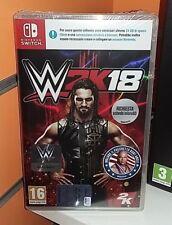 WWE 2K18 SWITCH NUOVO SIGILLATO ITA