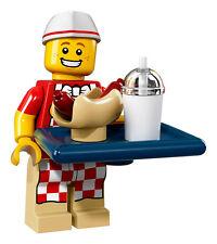 LEGO 71018 Series 17 Minifigure - Hot Dog Vendor, New/Mint