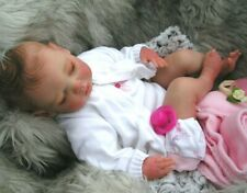 SLEEPING Reborn baby doll..DAISY.