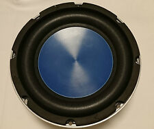 "2x 20cm 8"" COCHE ALTAVOCES GRAVES 200mm SUBWOOFER 200w Azul Soundlab L042 Par"