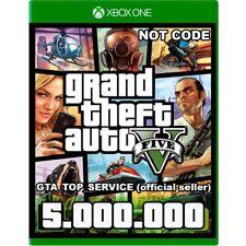 GTA 5 SHARK CARD XBOX ONE Grand Theft Auto V  $ 5.000.000 (Read Description)