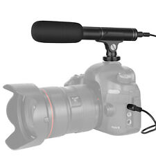 Neewer Camera Video Microphone Cardioid and Omnidirectional Condenser Mic