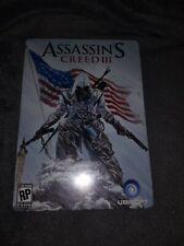 Assassin's Creed III -- Steelbook Edition (Sony PlayStation 3, 2012)