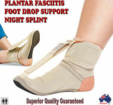 Plantar Fasciitis Night Sock Stretching Splint Foot Drop Brace Arch Stretcher