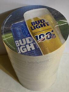 Football Helmet DRINK COASTERS @ Super Bowl 2011 BUD LIGHT BOWL 125 Sealed
