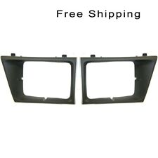 Head Lamp Door Set of 2 Pair LH & RH Side Fits Ford Econoline Van E-150 E-250