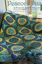 Peacock Pizzazz Quilt Pattern Pieced/Applique NM