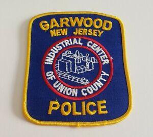 Garwood New Jersey Police Shoulder Patch