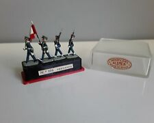 Peru (Peruanos) lead toy soldiers, Alymer Miniploms 1:87 made in Spain 1960's