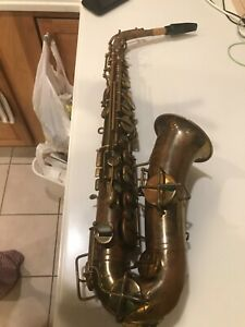 used low tone saxophone Buescher Elkhart