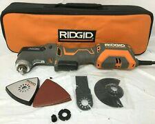 RIDGID R28602 JobMax Multi-Tool Tool-Free Head 4 Amp Corded Oscillating, GR