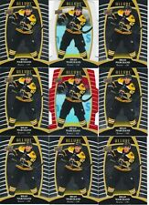BRAD MARCHAND 9 CARD LOT 19-20 UD ALLURE # 14 + RED + WHITE RAINBOW REFRACTOR SP