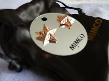 💕💕💕MIMCO Stunning Rose Gold Studs  Earrings BNWT+ dust bag 💟💟💟