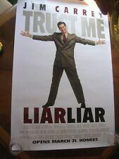 10 Liar Liar Jim Carey Theater Posters in orginal shipping tube.