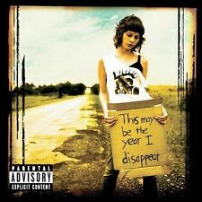 RECOVER - THIS MAY BE THE YEAR I DISAPPEAR rare Explicit version Rock cd 12 song