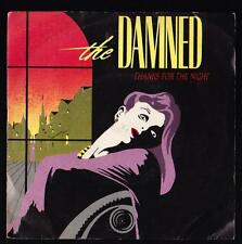 THE DAMNED DISCO 45 GIRI THANKS FOR THE NIGHT - DAMNED 1