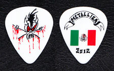 Metallica Kirk Hammett White Scary Guy Mexico Guitar Pick - 2012 Tour