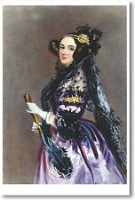 Ada King - Countess of Lovelace 1840 - NEW Fine Arts Poster