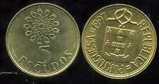PORTUGAL 5 escudos 1997  ( bis )