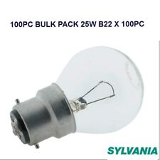 Bulk 100 Pack 25W Clear Fancy Round Light Globes / Bulbs Bayonet Cap B22