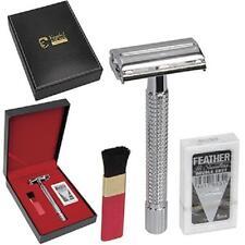 KINGSLEY for Men, 4 Pc. SHAVE GIFT SET  -  Razor, Cleaning Brush & Blades, SB-68