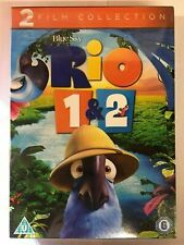 Rio 1 & Rio 2 - 2 Film Collection DVD, New *UNSEALED* G12