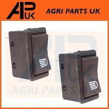 2x Case IH Ford John Deere Tractor Headlight Work Light Lamp Piano Rocker Switch