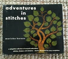 Mariska Karasz 1959 Embroidery Book, Adventures in Stitches and More (expanded)