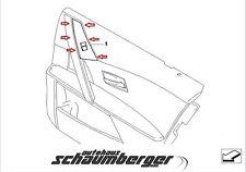 BMW Schalter Fensterheber HR schwarz  5er E60  E61 bis Bauj. 03/07  61316951965