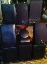Wireless speaker system,AR,Advent,JVC,Recoton,8 speakers